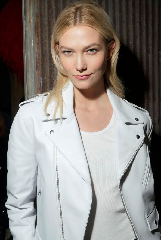 KARLIE KLOSS at Calvin Klein Fashion Show at NYFW in New York 02/13/2018