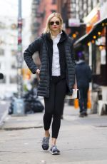 KARLIE KLOSS Out and About in New York 02/15/2018
