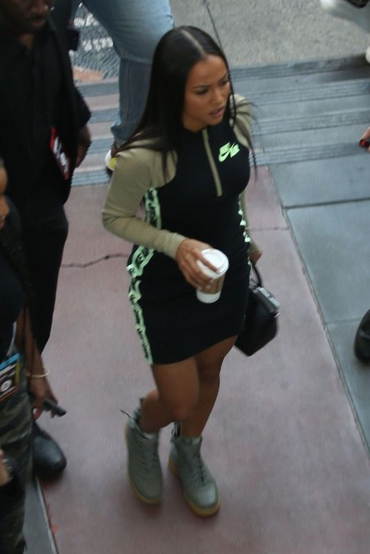 KARRUECHE TRAN Leaves NBA All-Star Weekend Party in Hollywood 02/17/2018