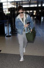 KATE MARA and Jamie Bell at LAX Airport in Los Angeles 02/16/2018