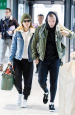 KATE MARA at Heathrow Airport in London 02/19/2018