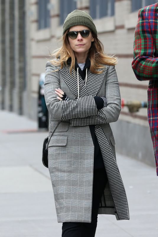 KATE MARA Out in New York 02/01/2018