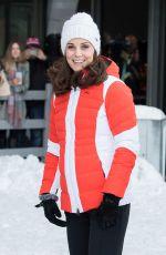 KATE MIDDLETON at Holmenkollen Ski Jump in Oslo 02/02/2018