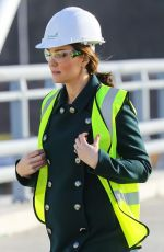 KATE MIDDLETON at New Bridge Across the River Wear in Sunderland 02/21/2018