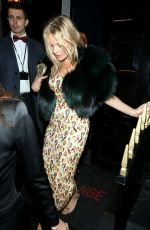 KATE MOSS at Mnky Hse in London 02/19/2018