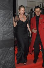 KATE MOSS at Vogue x Tiffany & Co Bafta Afterparty in London 02/18/2018
