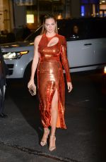 KATE UPTON Arrives at SI Swimsuit Issue Launch Party in New York 02/14/2018