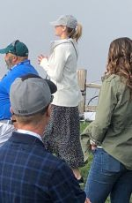 KATE UPTON at AT&T Pebble Beach National Pro-am in Pebble Beach 02/07/2018