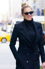 KATE UPTON Out in New York 02/08/2018