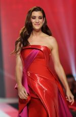 KATE WALSH in Gown by Galia Lahav at Red Dress 2018 Collection Fashion Show in New York 02/08/2018