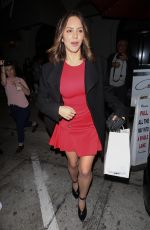 KATHARINE MCPHEE Out for Ddinner at Craig
