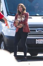 KATHARINE MCPHEE Out with Her Dogs in Los Angeles 02/15/2018