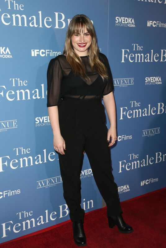 KATHRYN GALLAGHER at The Female Brain Premiere in Los Angeles 02/01/2018