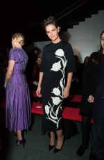 KATIE HOLMES at Carolina Herrera Fashion Show in New York 02/12/2018
