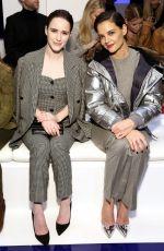 KATIE HOLMES at Ralph Lauren Show at New York Fashion Week 02/12/2018