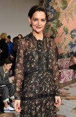 KATIE HOLMES at Zimmermann Fashion Show at NYFW in New York 02/12/2018