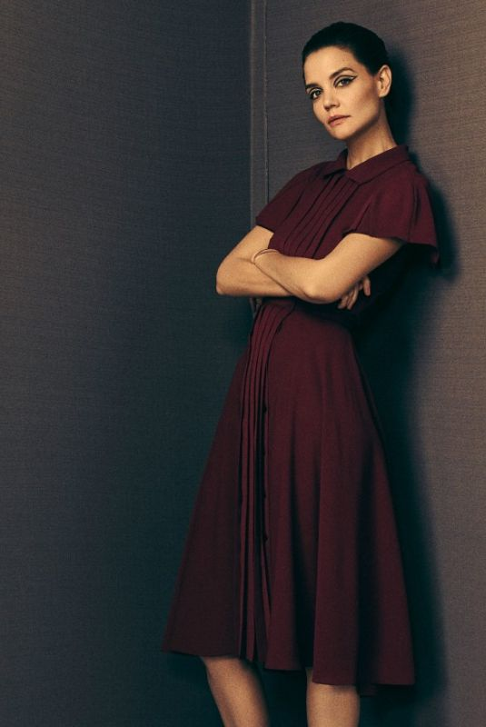 KATIE HOLMES for Zac Posen Fall 2018 Ready-to-Wear Collection 2018