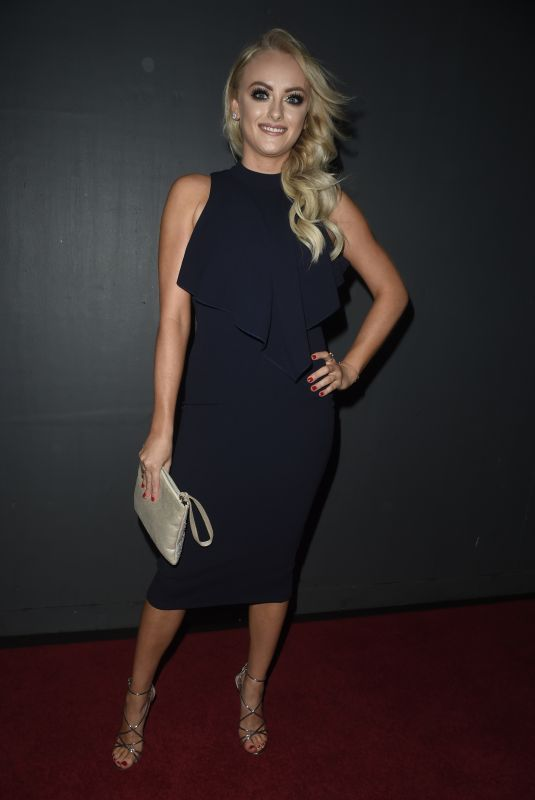 KATIE MCGLYNN at Kym Marsh Footprint Charity Ball in Manchester 02/10/2018