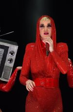 KATY PERRY Performs at Witness Tour at Portland