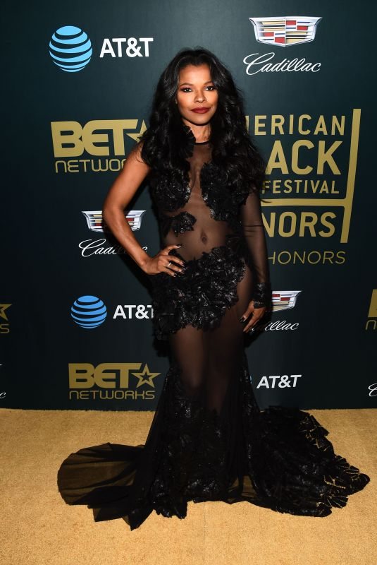 KEESHA SHARP at American Black Film Festival in Los Angeles 02/25/2018
