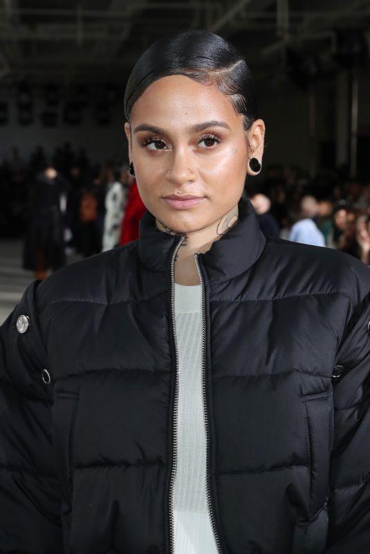 KEHLANI at 3.1 Phillip Lim Show at New York Fashion Week 02/12/2018