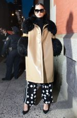 KEHLANI at Marc Jacobs Fashion Show at NYFW in New York 02/14/2018