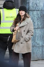 KEIRA KNIGHTLEY Out and About in London 02/01/2018