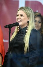 KELLY CLARKSON at Today Show in New York 02/26/2018