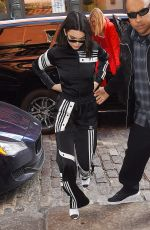 KENDALL JENNER Dressed by Adidas Out in New York 02/08/2018