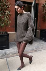 KENDALL JENNER Leaves Her Hotel in New York 02/09/2018