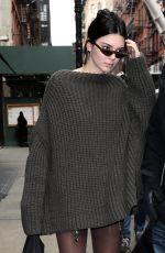 KENDALL JENNER Leaves Mercer Hotel in New York 02/09/2018