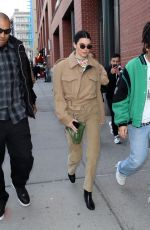 KENDALL JENNER Out at New York Fashion Week 02/08/2018