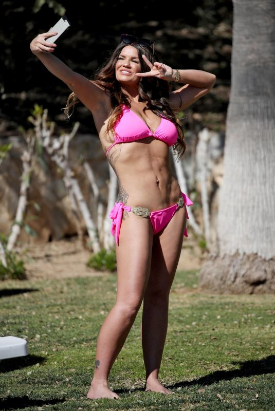 KERRY KATONA in Bikini on Vacation in Spain, February 2018