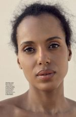 KERRY WASHINGTON in Glamour Magazine, Mexico March 2018