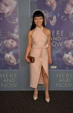 KIKI SUKENZANE at Here and Now Premiere in Los Angeles 02/05/2018