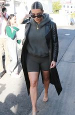 KIM KARDASHIAN at Dash Store in Los Angeles 02/07/2018