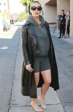 KIM KARDASHIAN Out and About in Los Angeles 02/07/2018