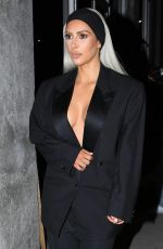KIM KARDASHIAN Out and About in Los Angeles 02/24/2018
