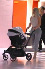 KIM KARDASHIAN Takes Baby Chicago on Her First Public Outing in New York 02/07/2018