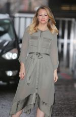 KIMBERLEY WALSH Leaves ITV Studios in London 02/19/2018