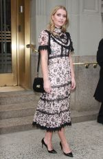 KITTY SPENCER at Kate Spade Fashion Show at NYFW in New York 02/09/2018