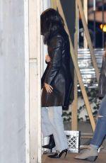 KOURTNEY KARDASHIAN Arrives at a Church in Beverly Hills 02/07/2018