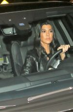 KOURTNEY KARDASHIAN Leaves a Church in Los Angeles 02/07/2018