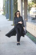 KOURTNEY KARDASHIAN Out and About in Los Ageles 02/22/2018