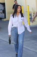 KOURTNEY KARDASHIAN Out for Lunch at Carousel Restaurant in Hollywood 02/15/2018