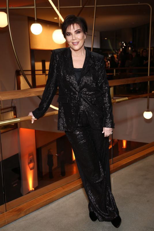 KRIS JENNER at Rachel Zoe Fall 2018 Collection Presentation in Los Angeles 02/05/2018