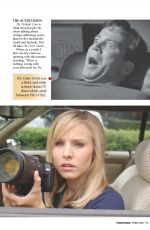 KRISTEN BELL in Panorama Magazine, Middle East February 2018