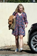 KRISTEN BELL Out in Los Angeles 02/09/2018
