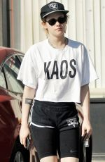KRISTEN STEWART Out and About in Los Angeles 02/09/2018