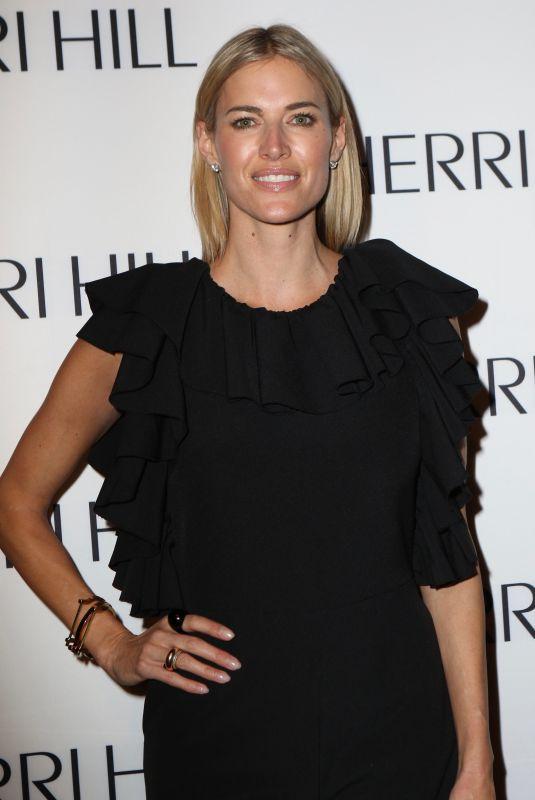 KRISTEN TAEKMAN at Sherri Hill Show at New York Fashion Week 02/08/2018